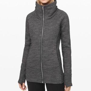 NWT Lululemon Radiant Jacket Dark Grey Size 4